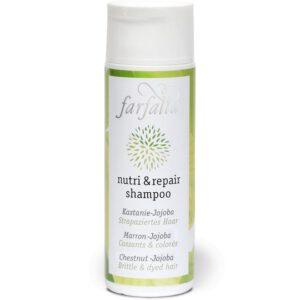 Farfalla-Nutri-und-Repair-Shampoo-Kastanie-Jojoba-Strapaziertes-Haar
